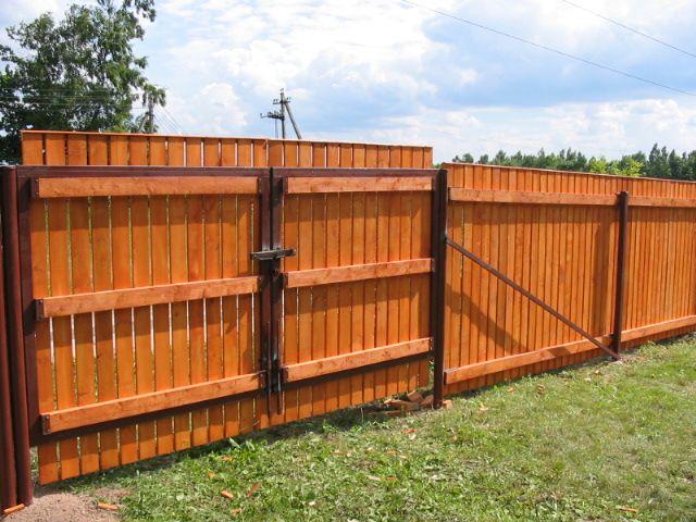 заборы и ворота для дачи