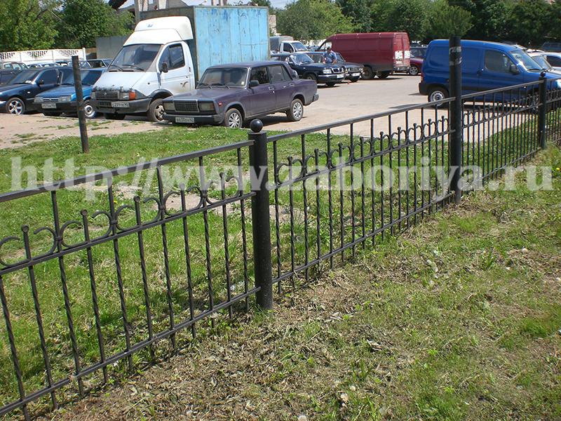 Ограда для газона