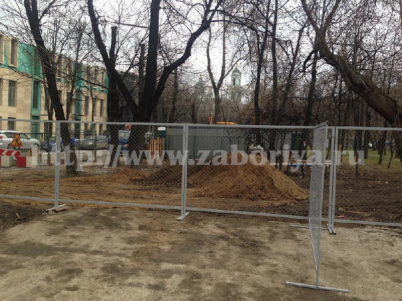Строительные ограждения в Москве