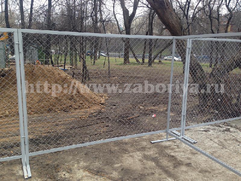 Строительные ограждения в Московской области