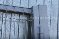Забор оцинкованный 3D-эконом