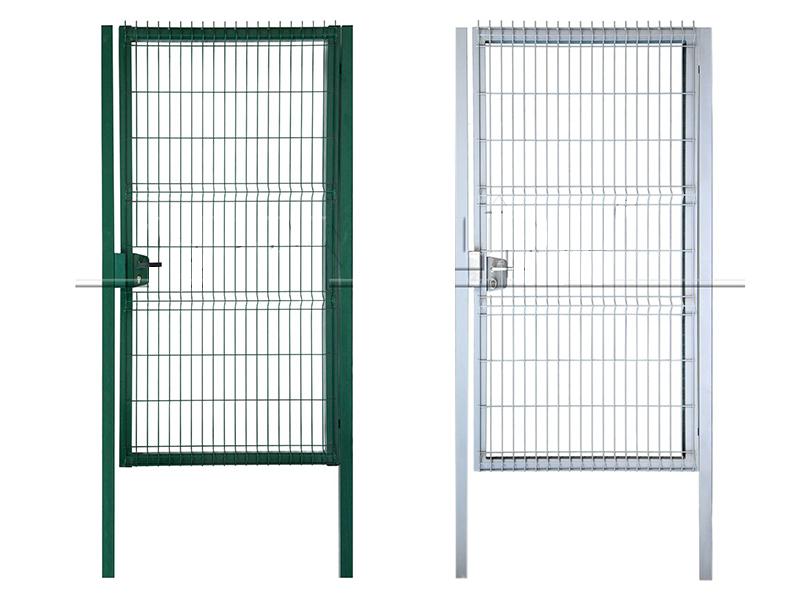 Современные ограждения калитки и двери