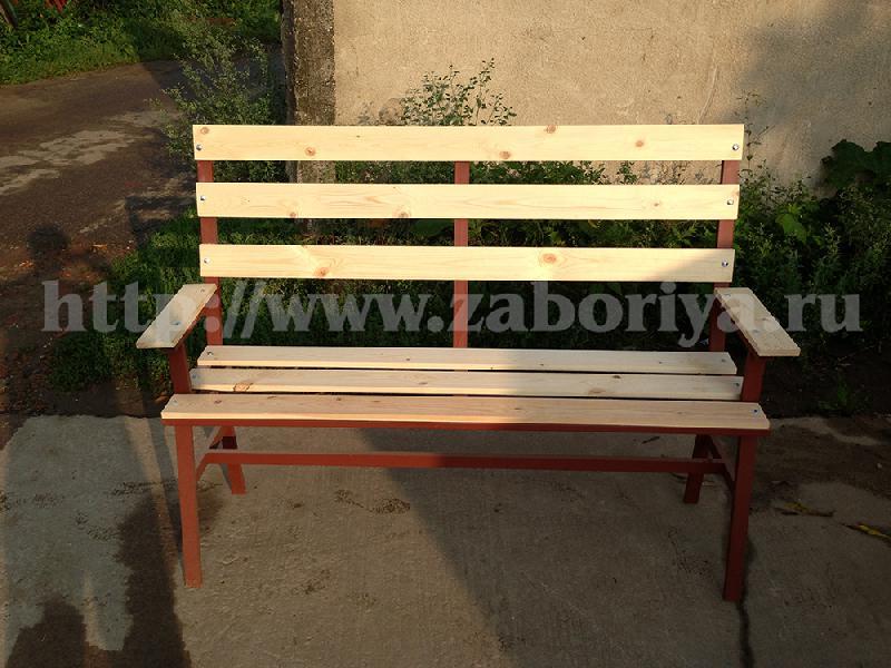Садовая скамейка для дачи от компании Забория