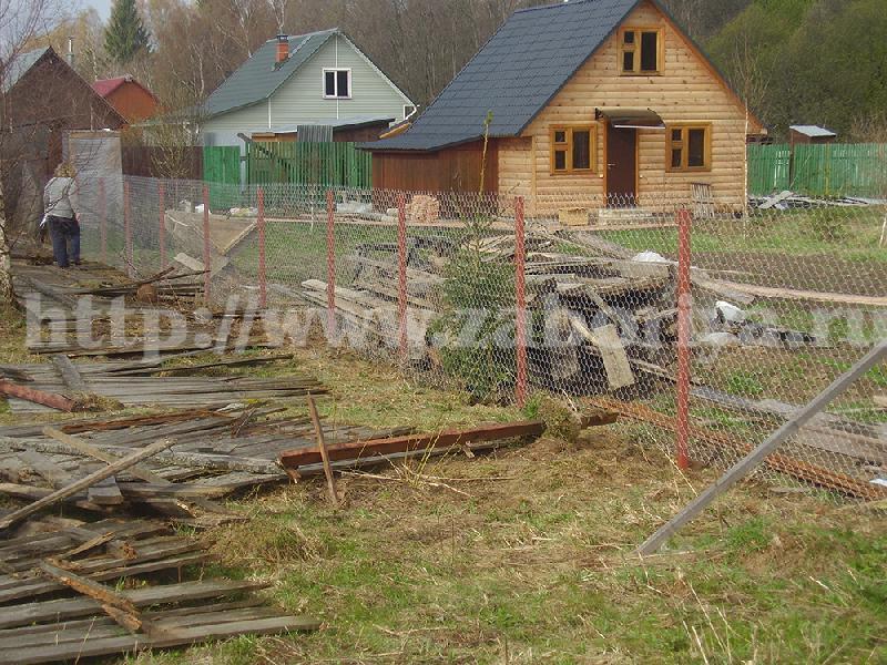 Установка забора в Московской области